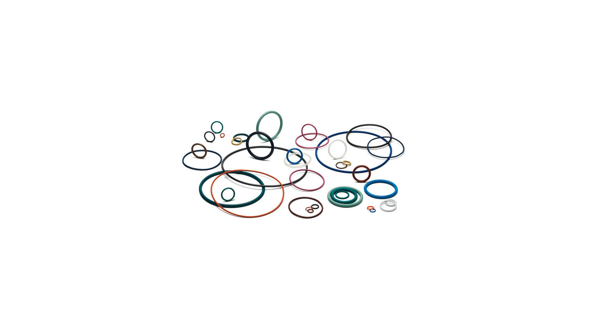 Logo O-Rings and Precision Molded Parts