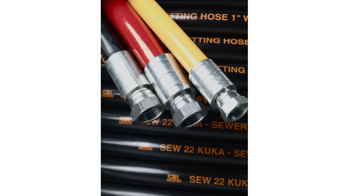 Logo Sewer jetting hose (thermoplastik and rubber)