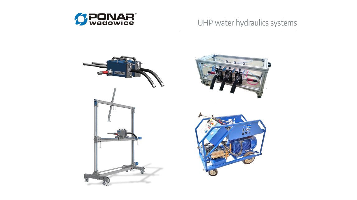 Logo UHP water hydraulics systems