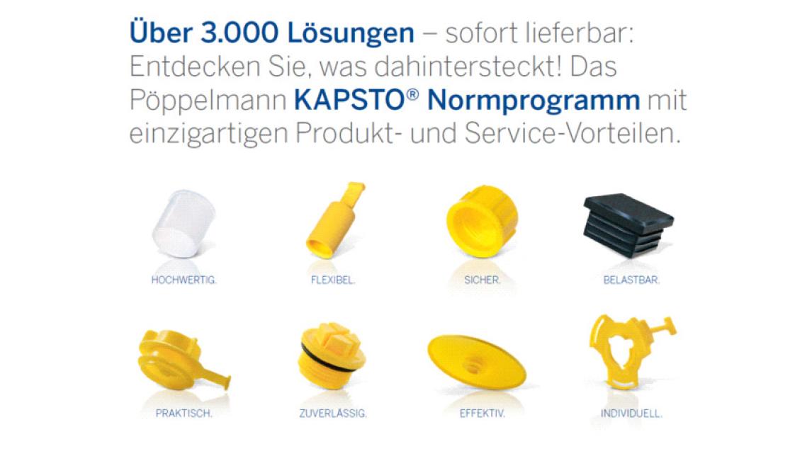 Logo KAPSTO: Kunststoff-Schutzelemente für alle Fälle