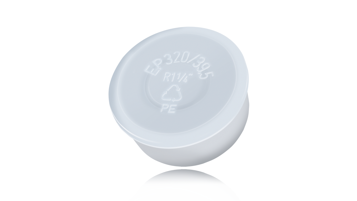 Logo EP 320 Barrel Plugs with Domed Head and