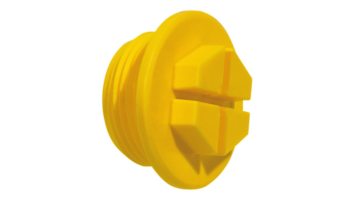 Logo EP 436 Threaded Sealing Plugs with drain