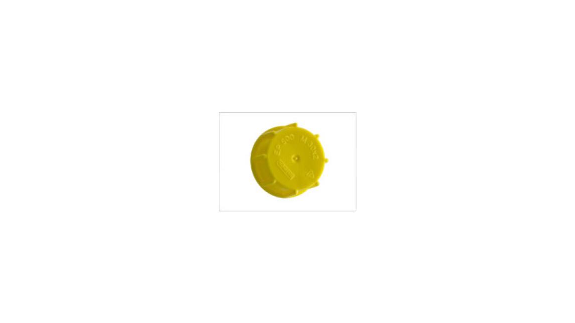 Logo EP 500 Schraubkappen mit Dichtkragen