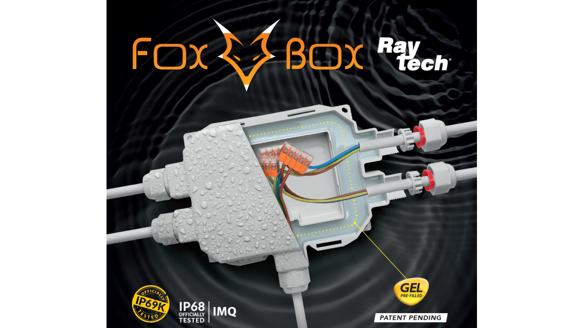 Logo FOX BOX IP68/IP69