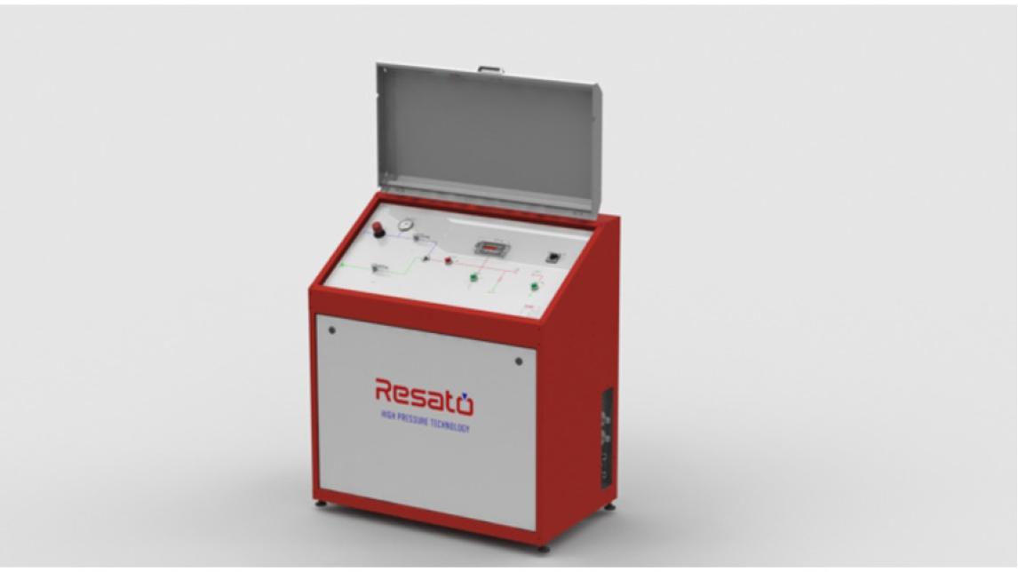 Logo Workshop hydraulic pressure test unit