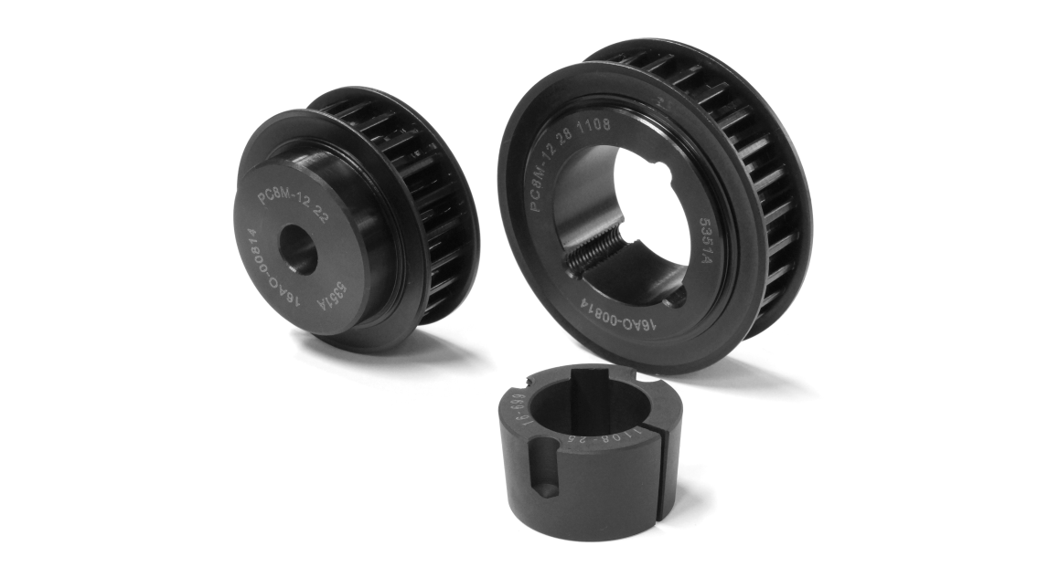Logo POLY CHAIN® GT® Timing belt pulleys
