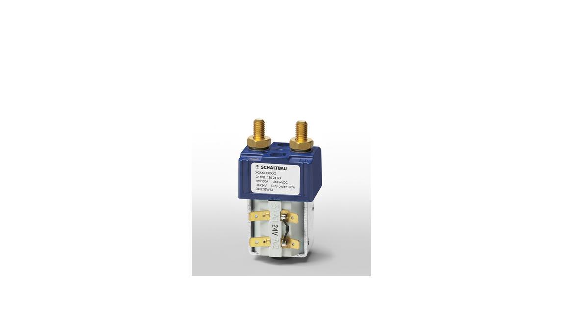 Logo DC battery contactors Series C1110B