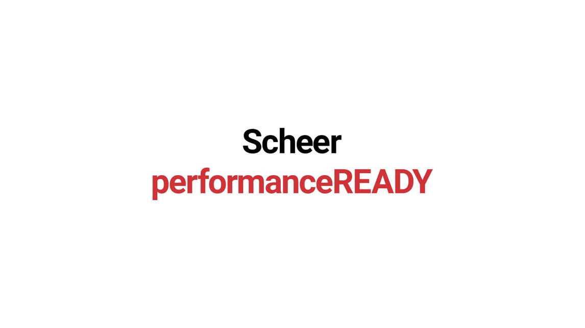 Logo Scheer PerformanceREADY
