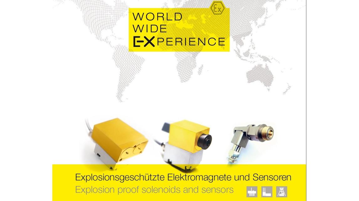 Logo Explosionsgeschützte Elektromagnete