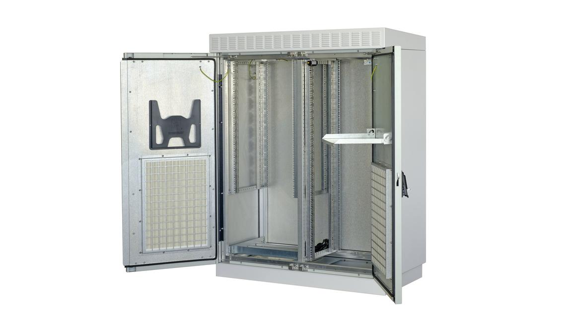 Logo nVent SCHROFF Modular Outdoor Cabinet