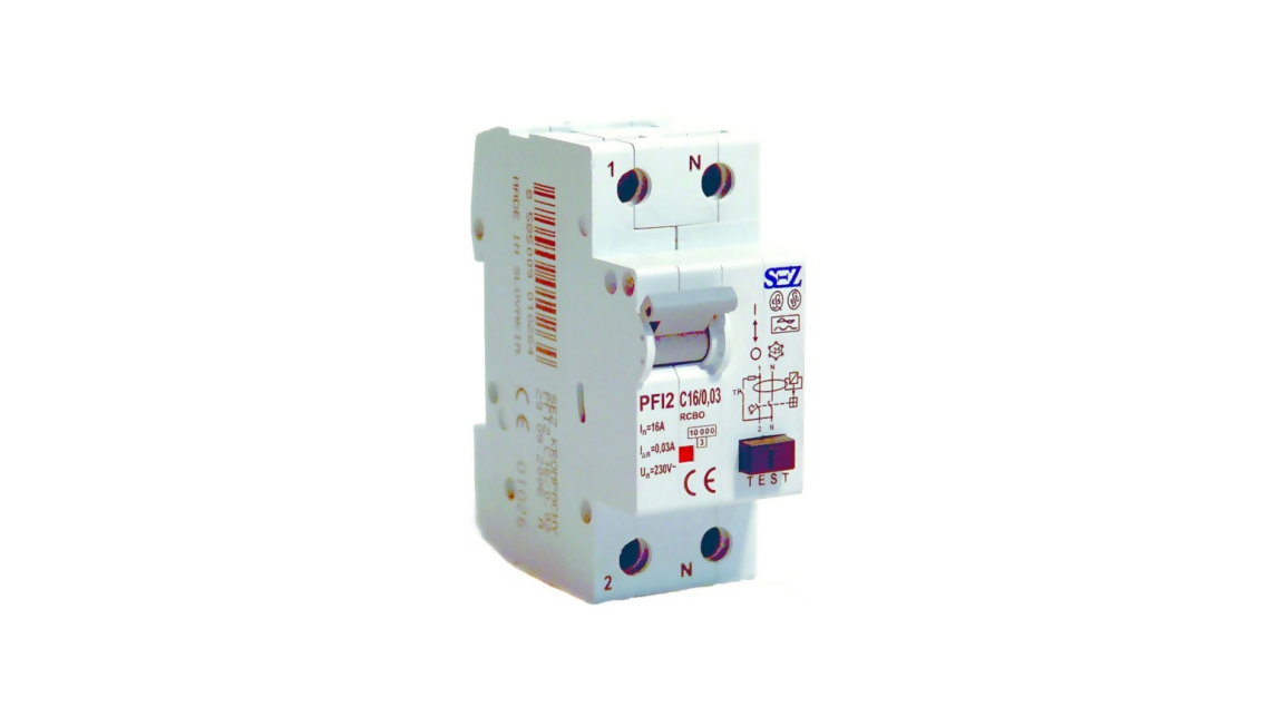 Logo Residual current circuit breakers with overcurrent protection PFI2