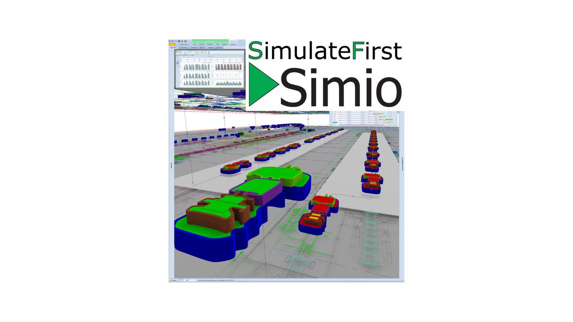 Logo Simio Simulation und Feinplanung