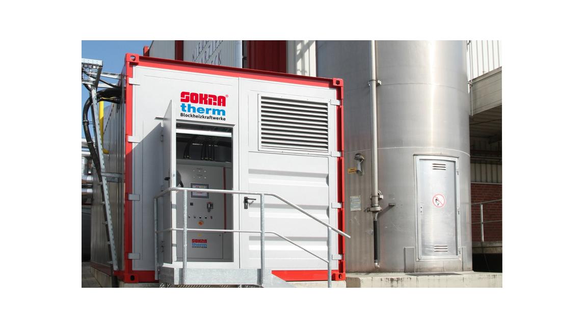Logo Natural gas powered CHP units 50-550 kW