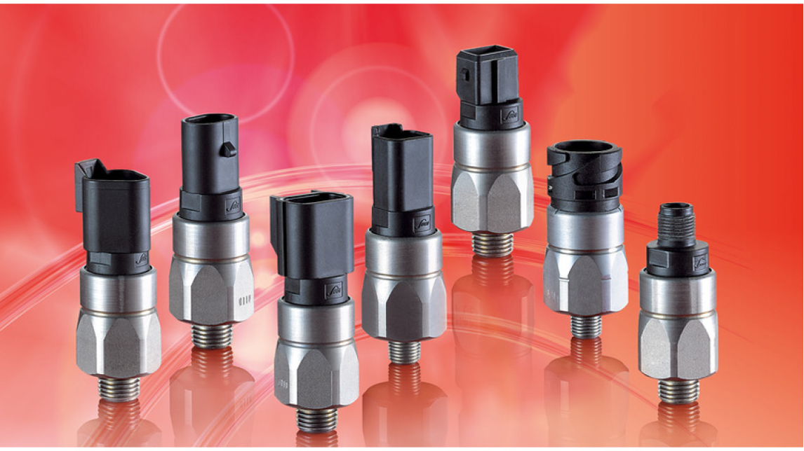 Logo Pressure Switches - integrated connector