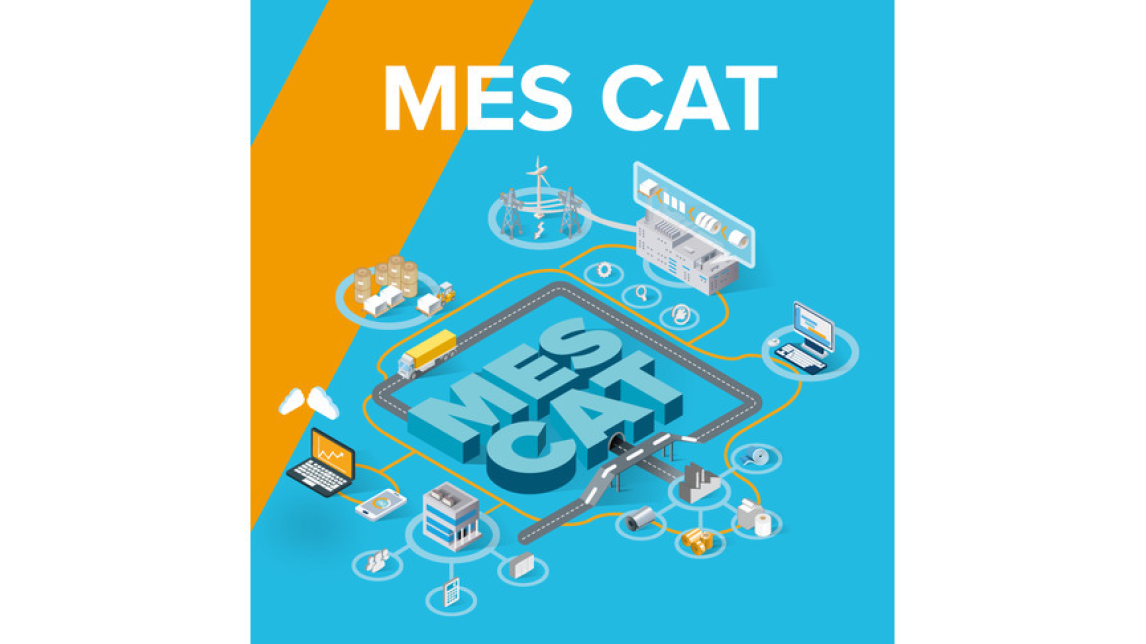 Logo MES CAT - in SAP integrated MES