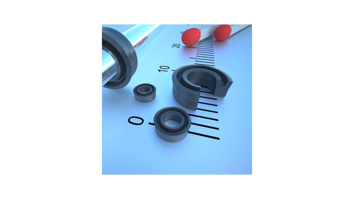 Logo Dichtelemente und Abstreifer für Micro-