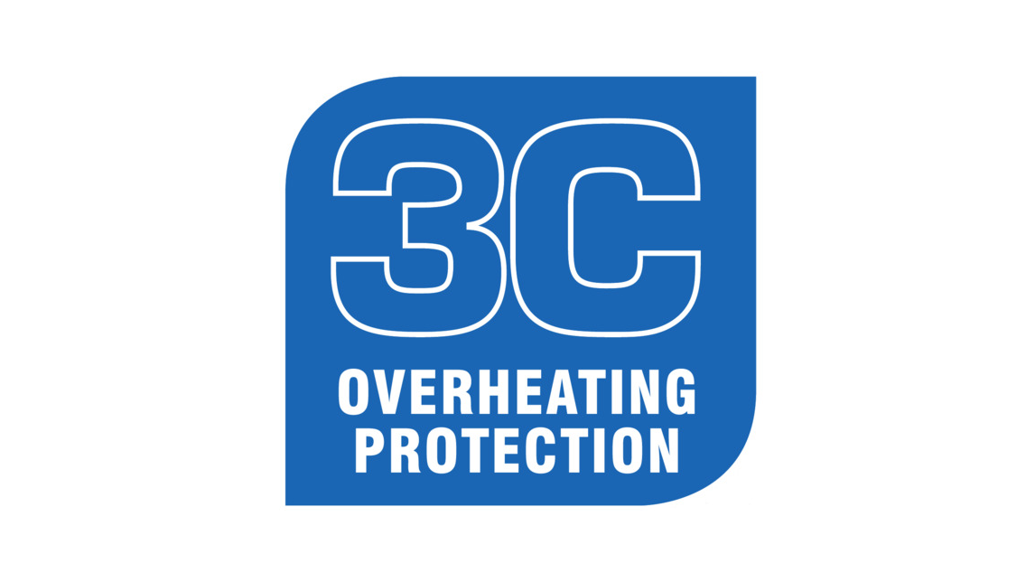 Logo 3C Overheating Protection