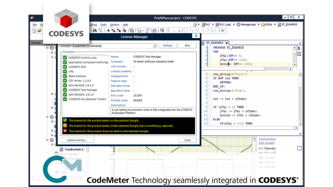 Protecting PLC software using CoDeSys - Product - HANNOVER MESSE 2019