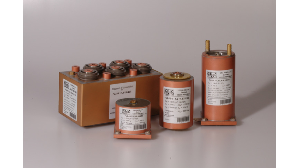 Logo Capacitors for induction heating