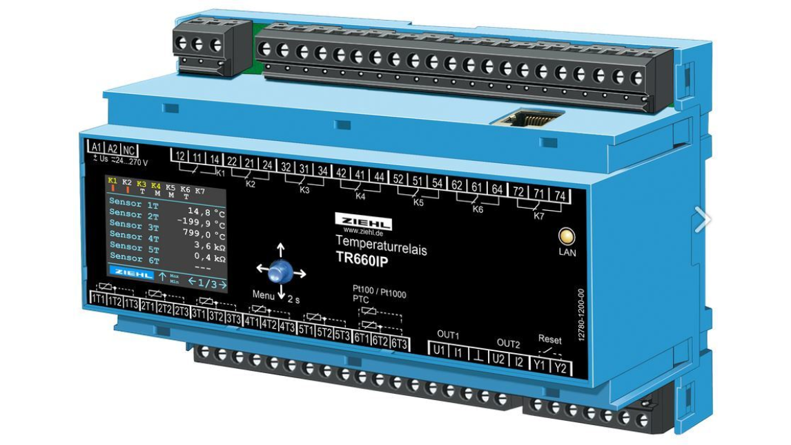 Logo TR660IP Temperature Relay for Pt 100 RTD