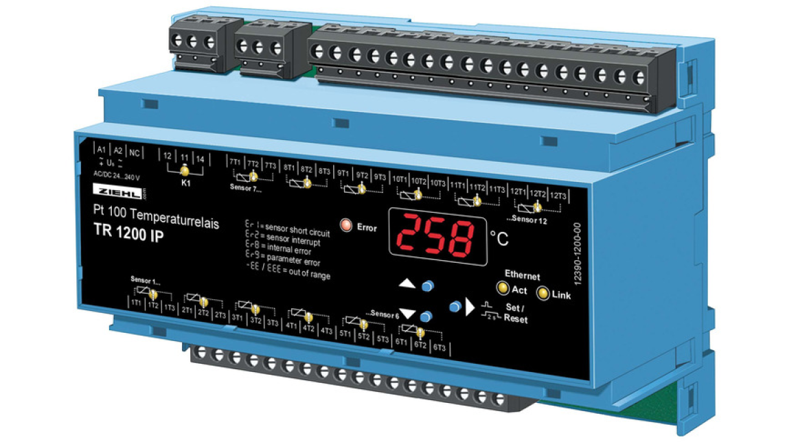 Logo Temperatur Relay with IEC 61850 GOOSE