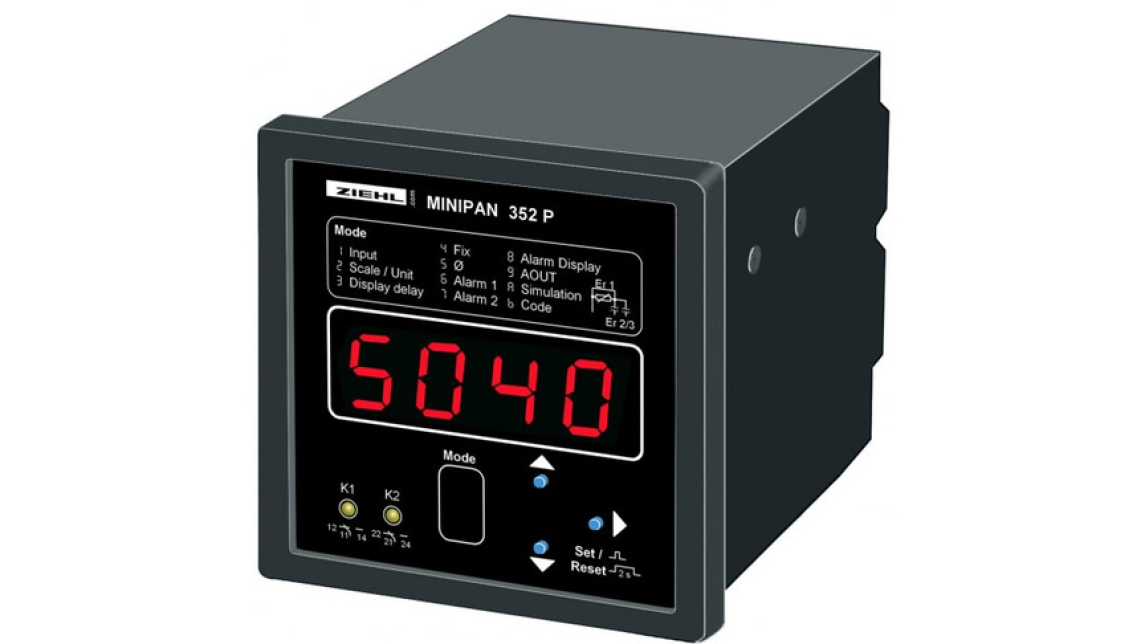 Logo Digital Panelmeters MINIPAN