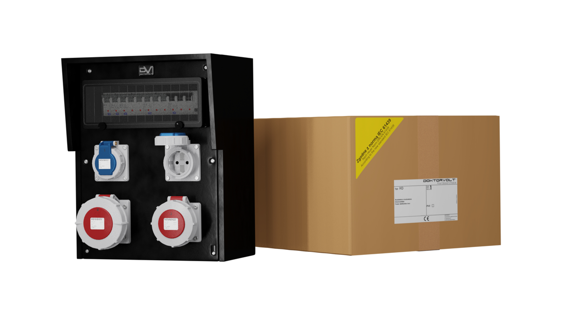 Logo Distribution box HD-S/FI 32A