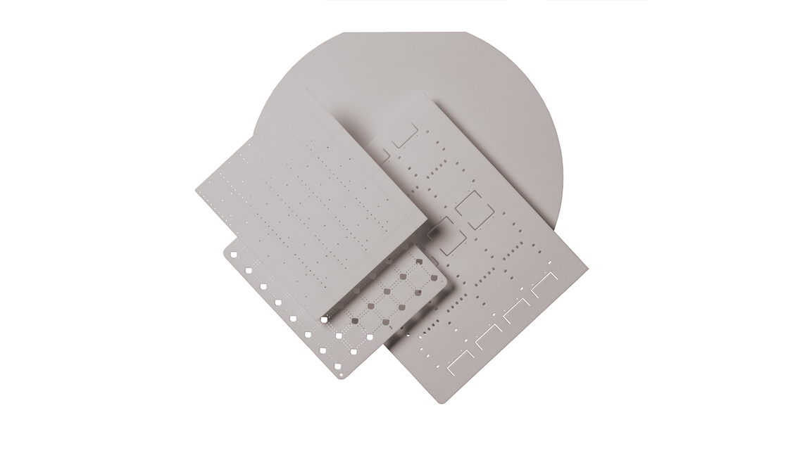 Logo Aluminum Nitride (AlN)Ceramic Substrates