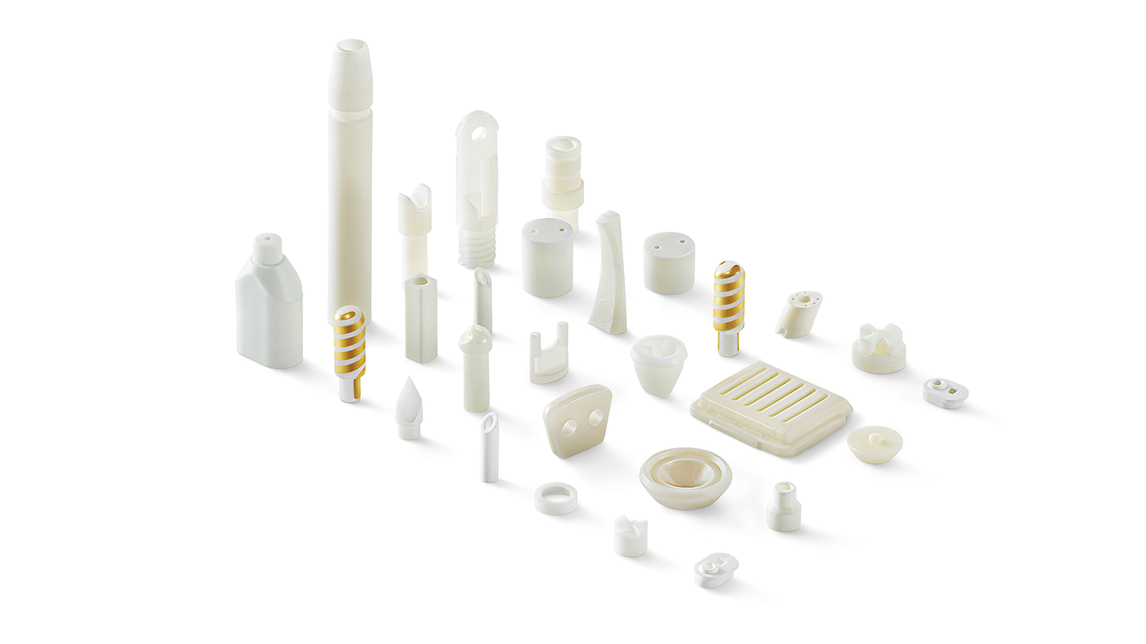 Logo Ceramic Components for Medical Devices
