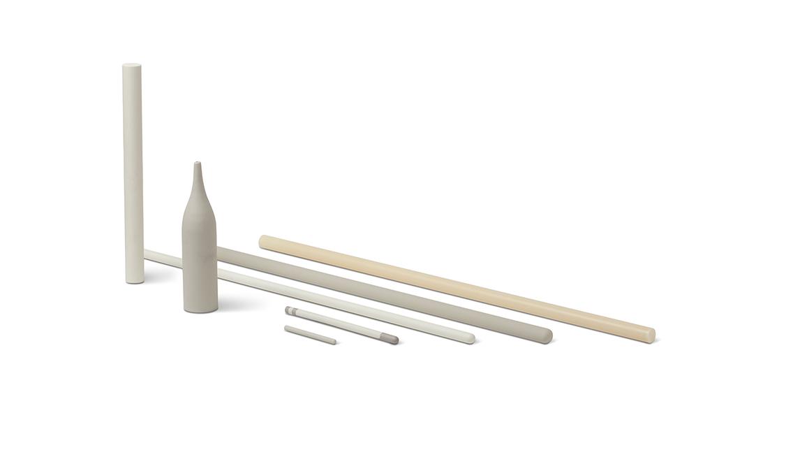 Logo Ceramic Tubes and Ceramic Rods