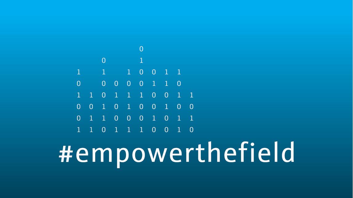 Logo #empowerthefield
