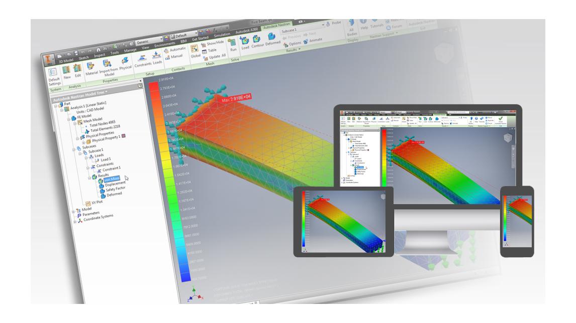 Logo Autodesk® Nastran® In-CAD