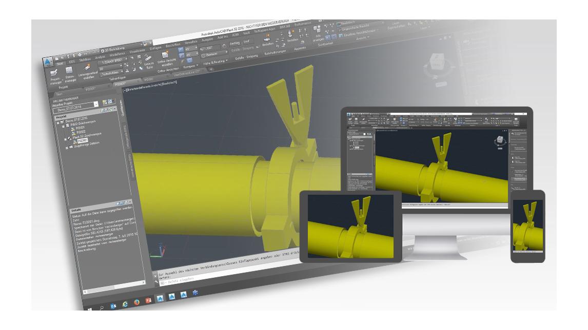 Logo AutoCAD® Plant 3D