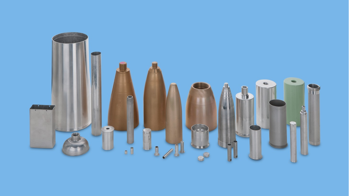 Logo Impact Extrusion Products