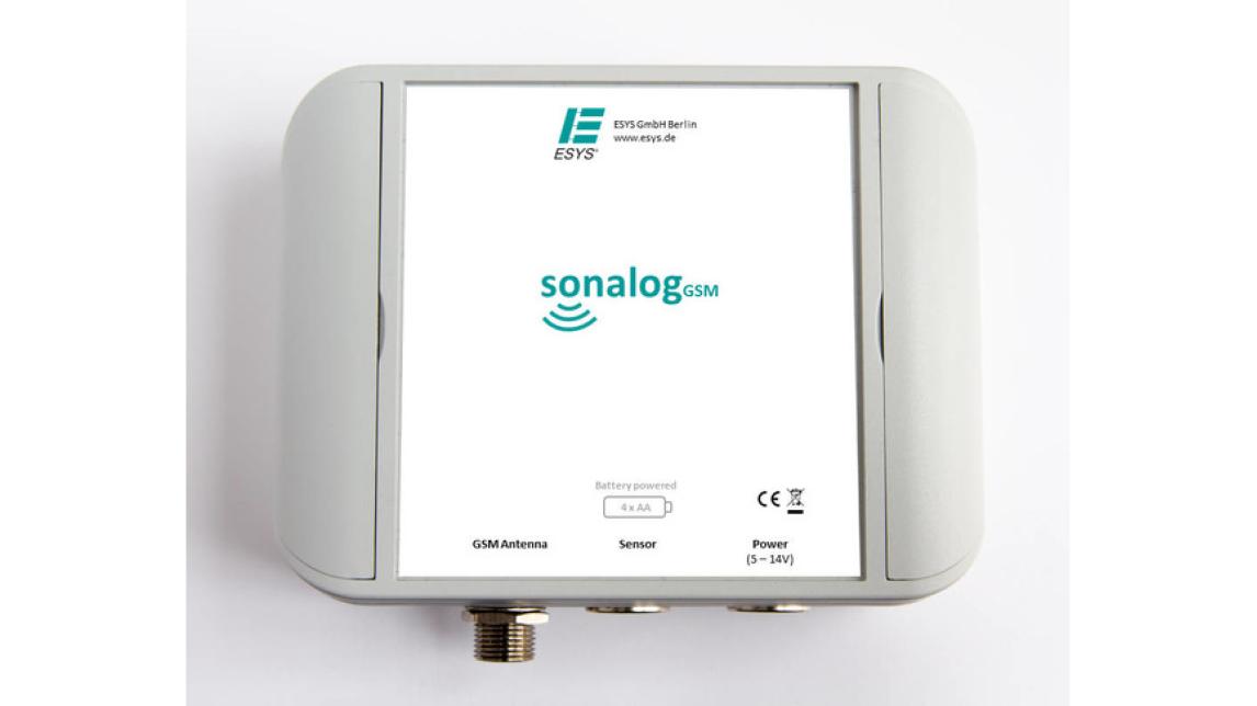 Logo Online-Füllstandsanzeige sonalogGSM