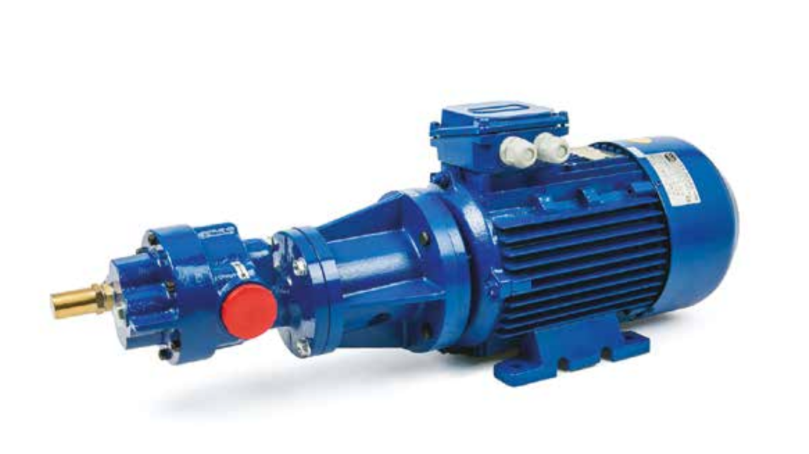 Logo BFC Gear pumps with bell-housing