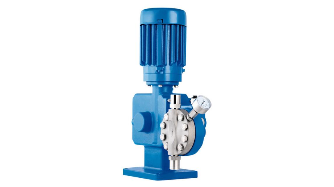 Logo LEWA ecosmart® diaphragm metering pump
