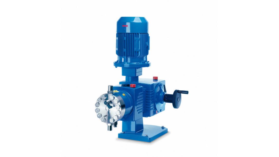 Logo LEWA ecoflow® diaphragm metering pump