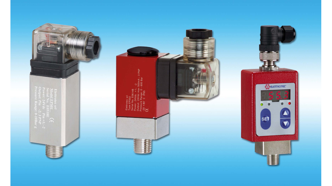 Logo ELECTRONIC PRESSURE SWITCHES