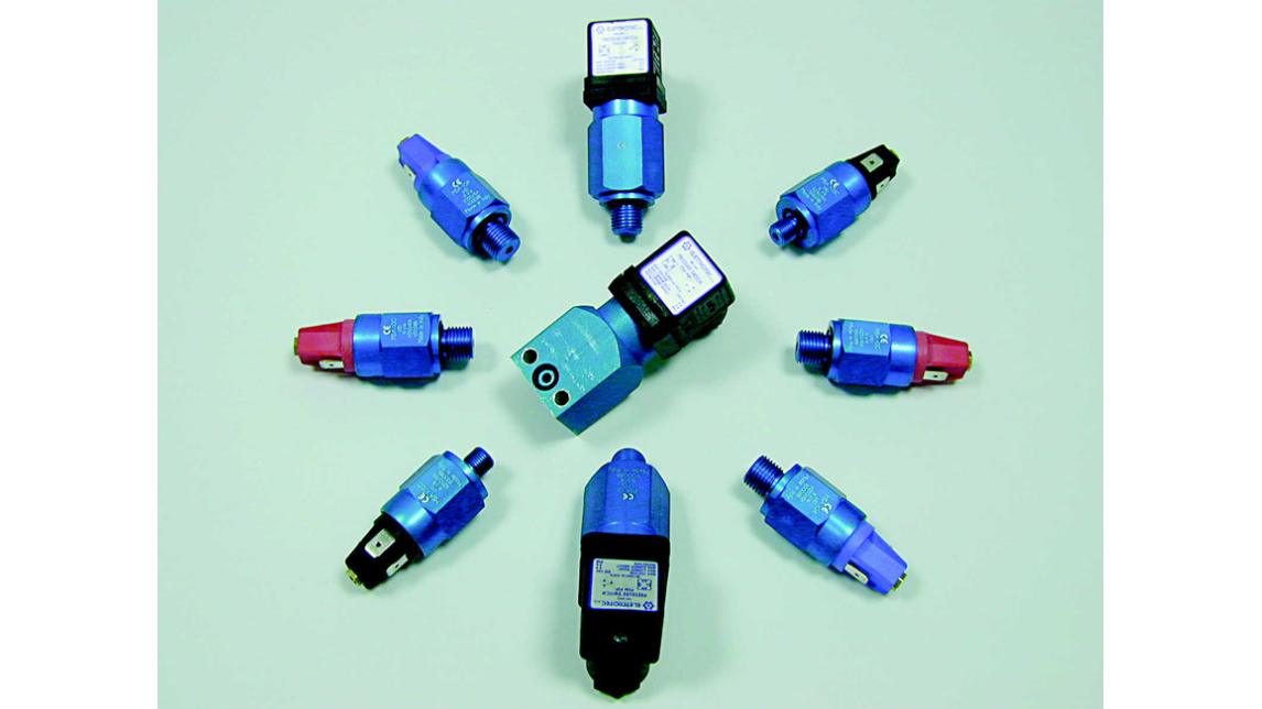 Logo Adjustable Pressure Switches for Pneumatics