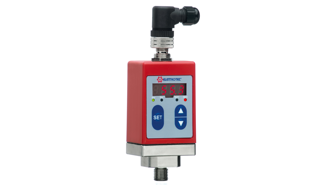 Logo PROGRAMMABLE PRESSURE TRANSMITTER AND ELECTRONIC PRESSURE SWITCH