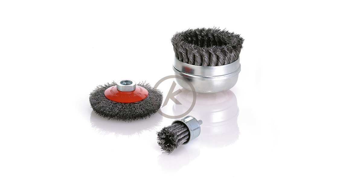 Logo End, Cup and Bevel brushes