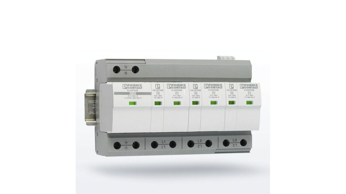 Logo Surge protection and interference filter
