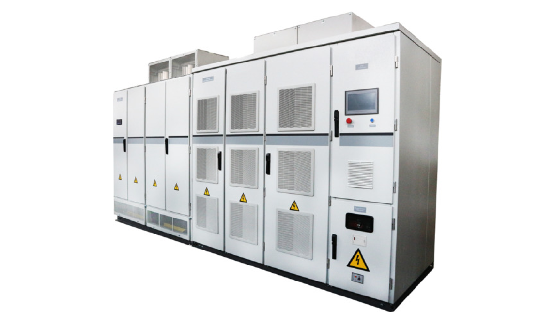 Logo Sensorless vector control MV drives