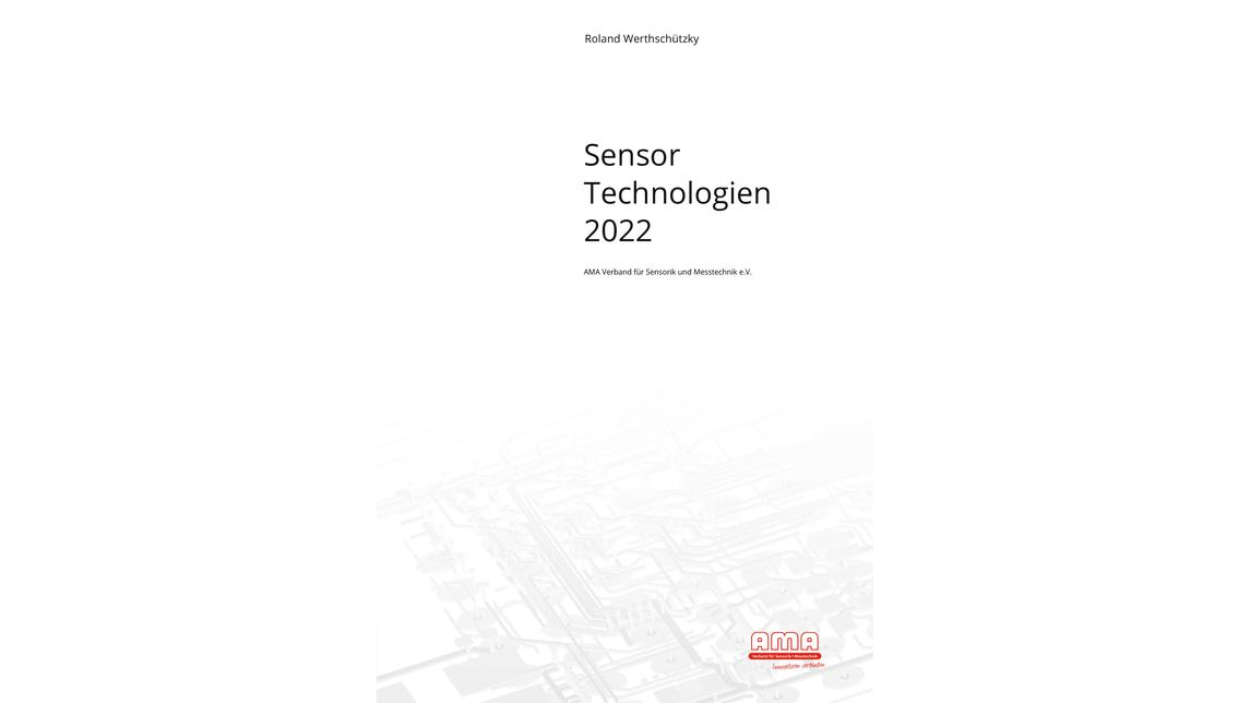 Logo AMA Studie: Sensor Technologien 2022
