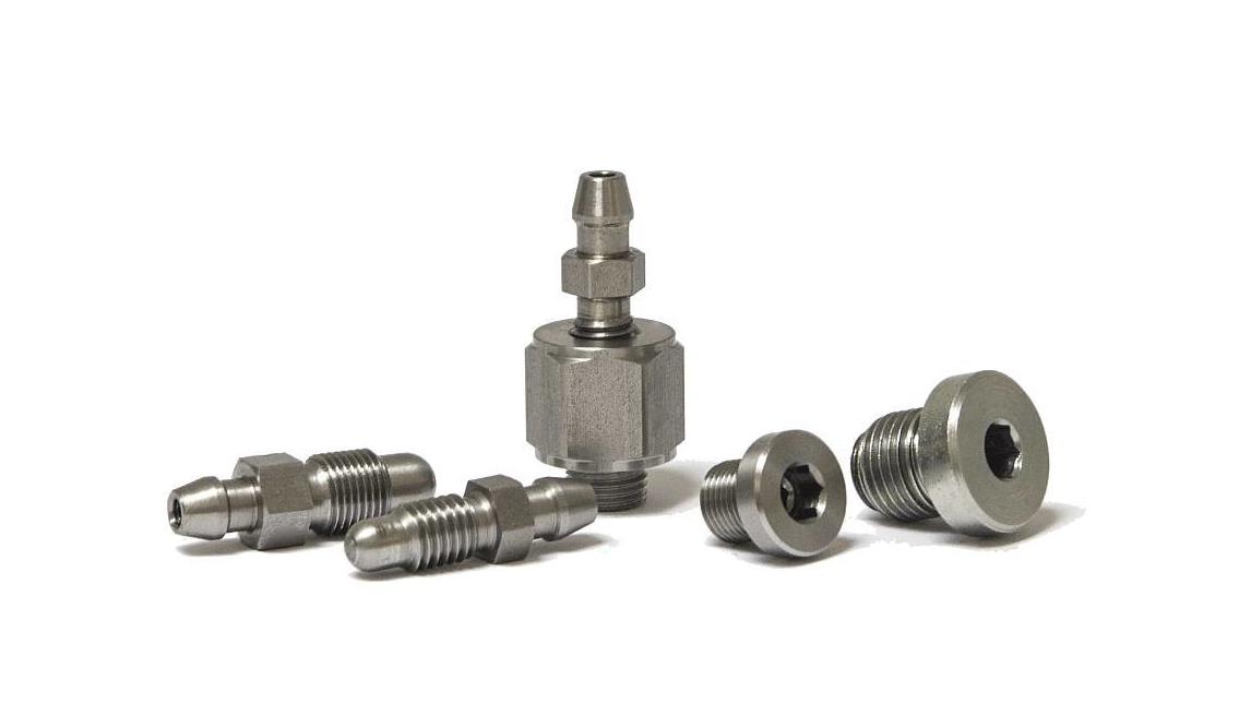 Logo Bleeding screws for high pressure