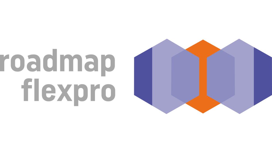 """Logo Projekt """"Roadmap flexPro"""""""