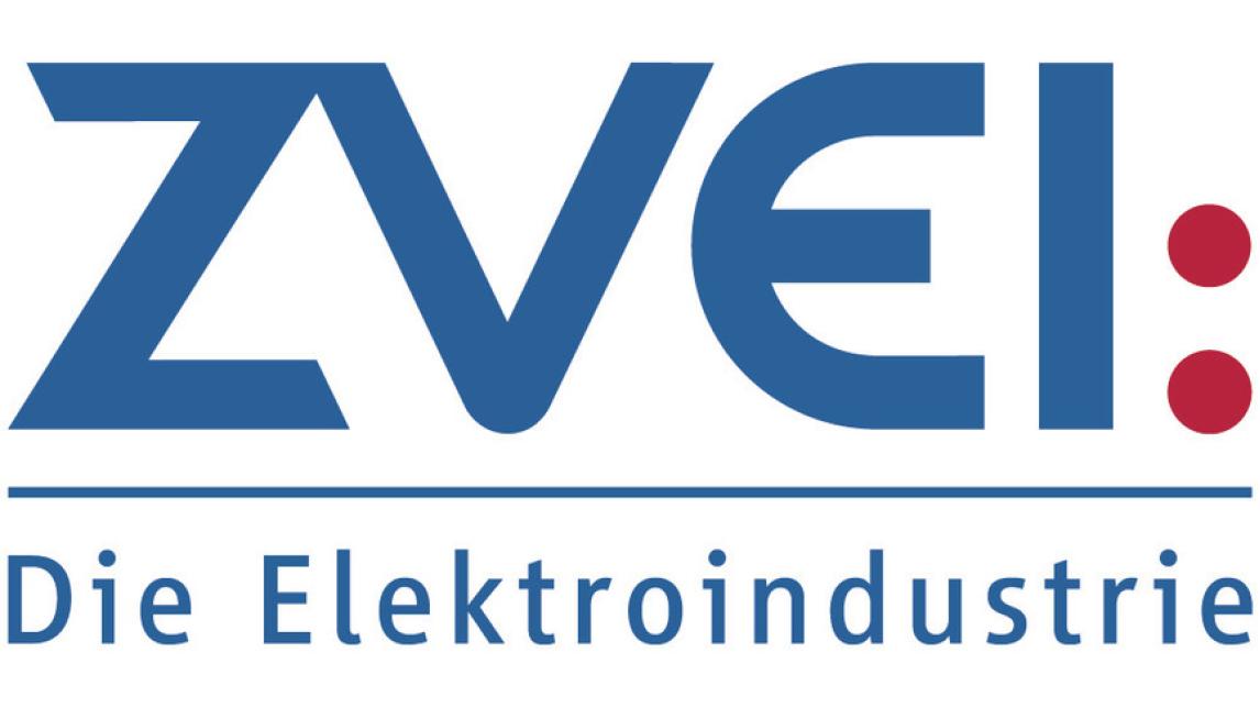Logo ZVEI im Forum Industrie 4.0 Halle 8, D19