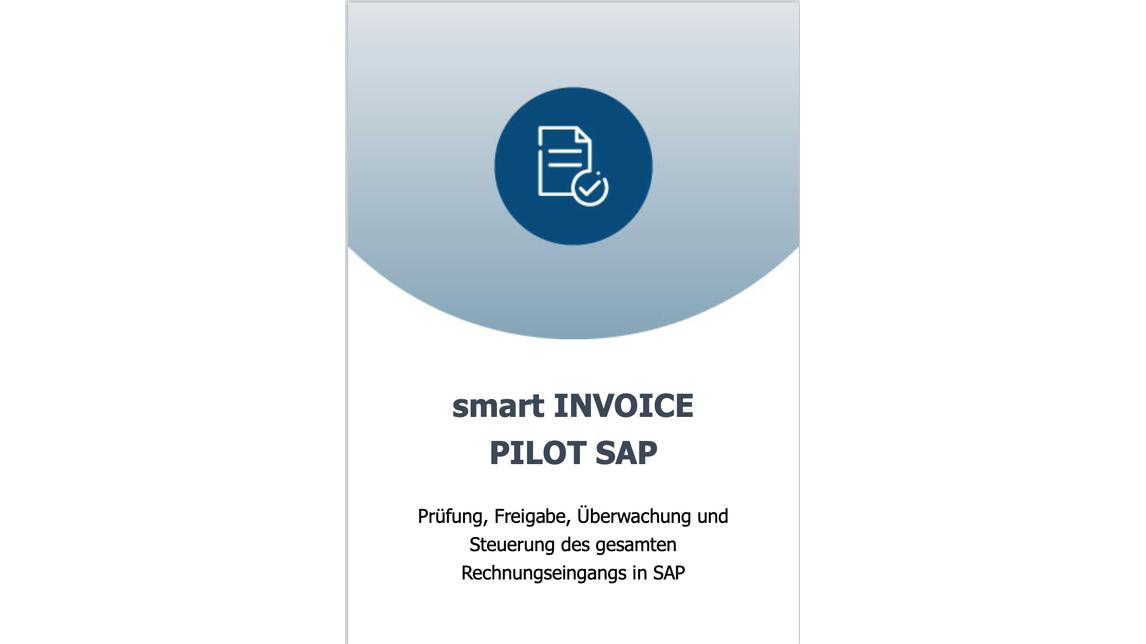 Logo smart INVOICE PILOT SAP