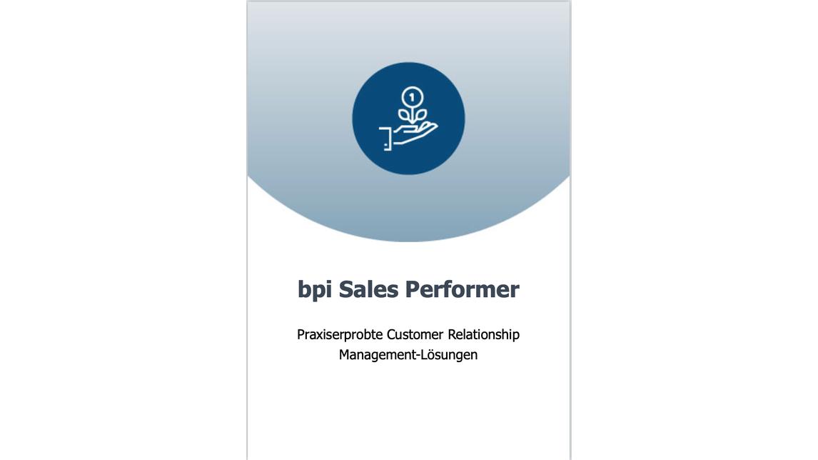 Logo bpi Sales Performer (CRM)